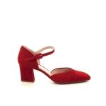 Voltan damesschoenen mocassin rood 202112