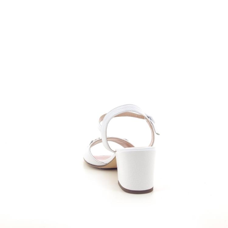Voltan damesschoenen sandaal wit 191582