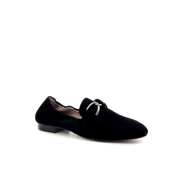 Voltan damesschoenen mocassin zwart 191502