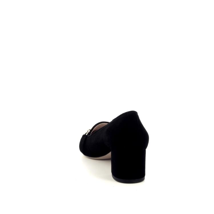 Voltan damesschoenen mocassin zwart 191524