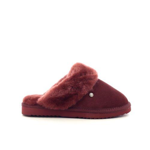 Warmbat damesschoenen pantoffel naturel 210546