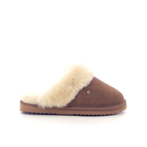 Warmbat damesschoenen pantoffel oudroos 210547