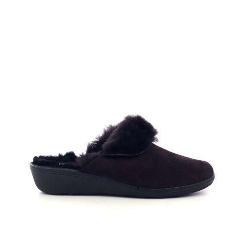 Westland damesschoenen pantoffel bordo 217808