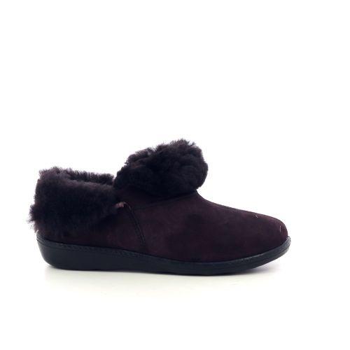 Westland damesschoenen pantoffel bordo 217811