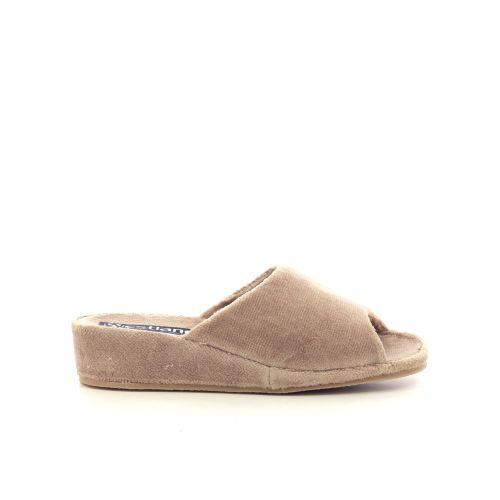 Westland damesschoenen pantoffel camel 211967