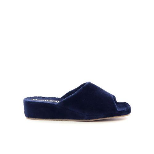 Westland damesschoenen pantoffel donkerblauw 217899
