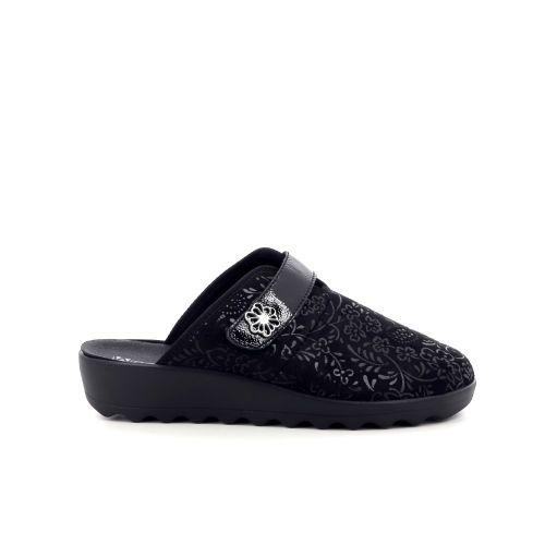 Westland damesschoenen pantoffel zwart 212796