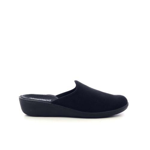 Westland damesschoenen pantoffel zwart 217809