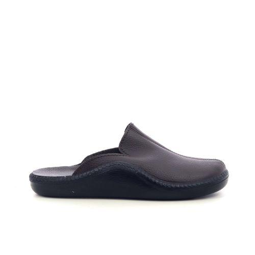 Westland herenschoenen pantoffel d.bruin 217256