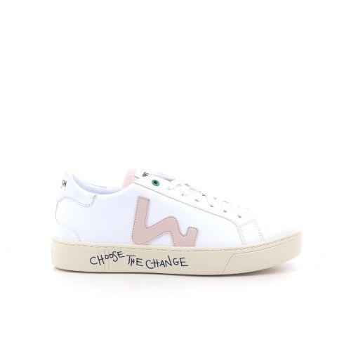 Womsh damesschoenen sneaker wit 203494