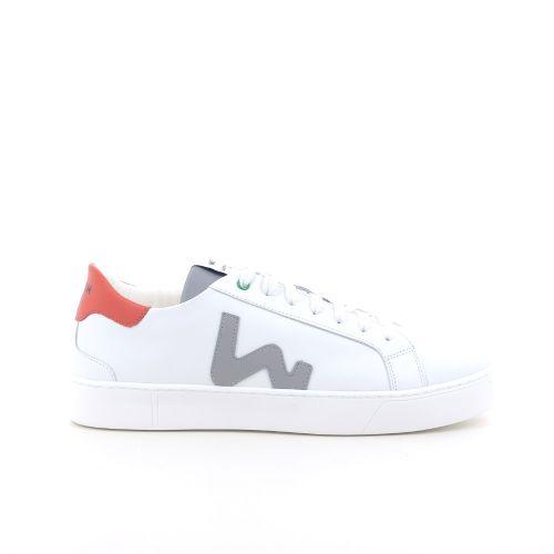 Womsh herenschoenen sneaker wit 203498