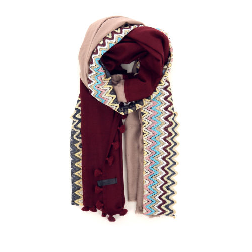 Yess accessoires sjaals bordo 187479