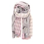 Yess accessoires sjaals grijs 187487
