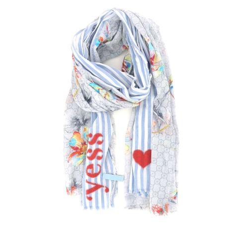 Yess accessoires sjaals lichtblauw 192669