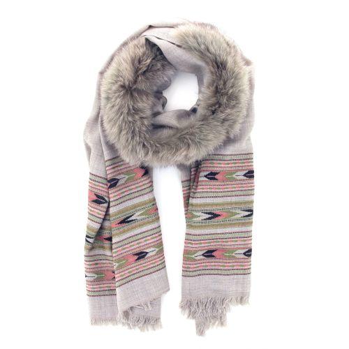 Yess accessoires sjaals naturel 178237