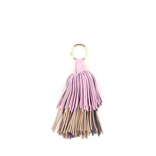 Yess accessoires sleutelhanger rose 192663