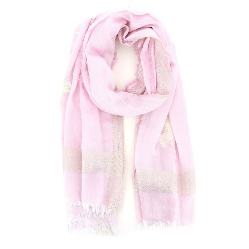 Yess accessoires sjaals rose 203085