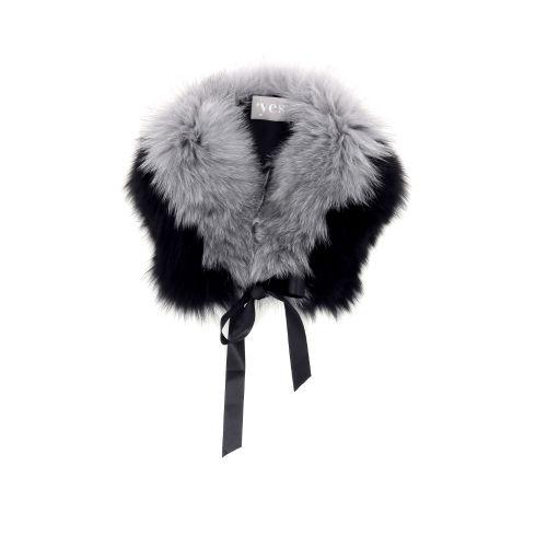 Yess accessoires sjaals zwart 187476