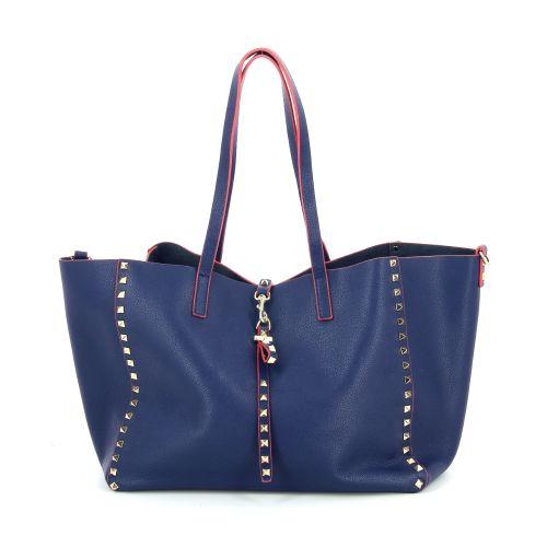 Yess solden handtas donkerblauw 192513