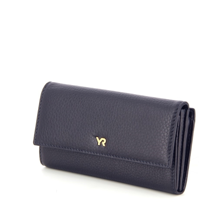 Yves renard accessoires portefeuille donkerblauw 192439