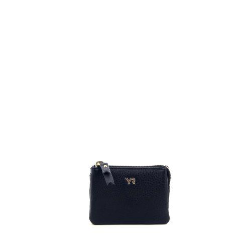 Yves renard accessoires portefeuille zwart 206902