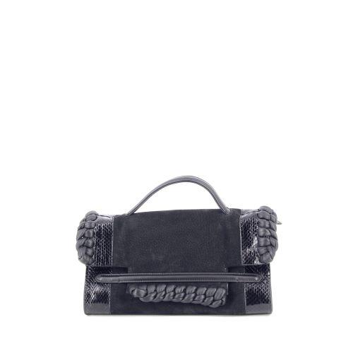 Zanellato koppelverkoop handtas zwart 190023