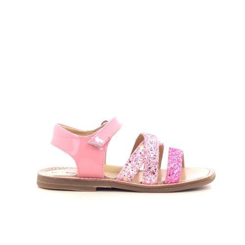 Zecchino d'oro kinderschoenen sandaal felroos 213617