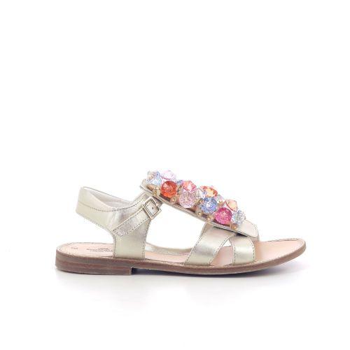 Zecchino d'oro kinderschoenen sandaal goud 204851