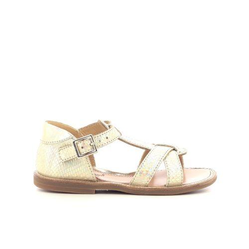 Zecchino d'oro kinderschoenen sandaal goud 213605