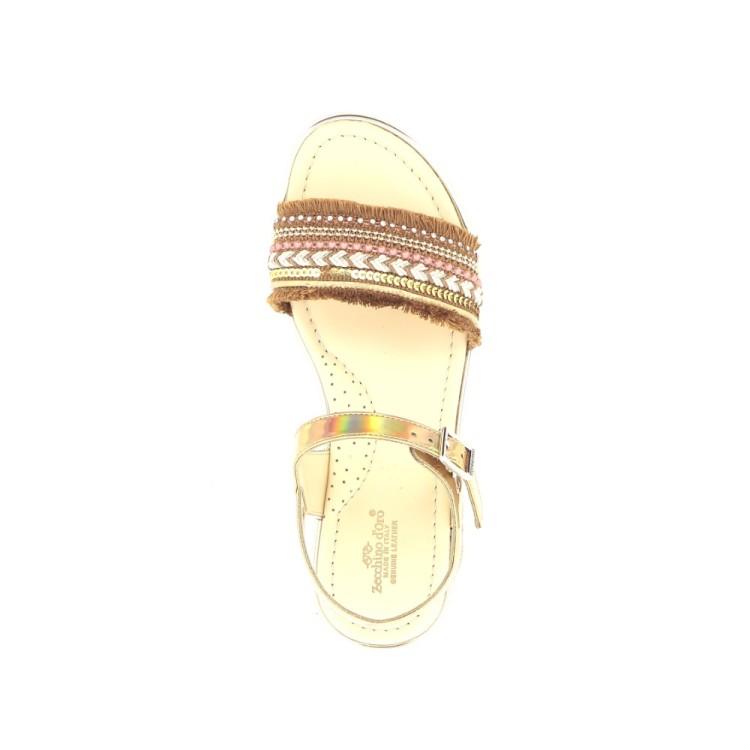 Zecchino d'oro kinderschoenen sandaal naturel 204846