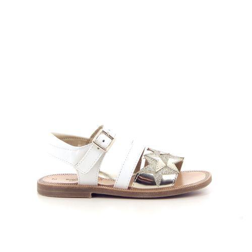 Zecchino d'oro solden sandaal wit 183787