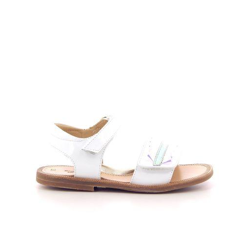 Zecchino d'oro solden sandaal wit 194236