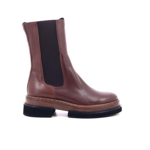 Zinda damesschoenen boots cognac 218810