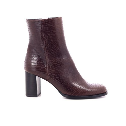 Zinda damesschoenen boots roodbruin 209749