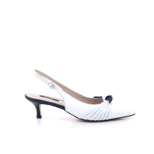 Zinda damesschoenen sandaal wit 205185