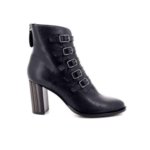 Zinda damesschoenen boots zwart 200469