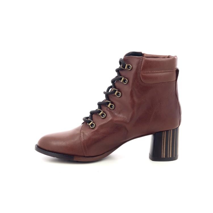 Zinda damesschoenen boots cognac 200464